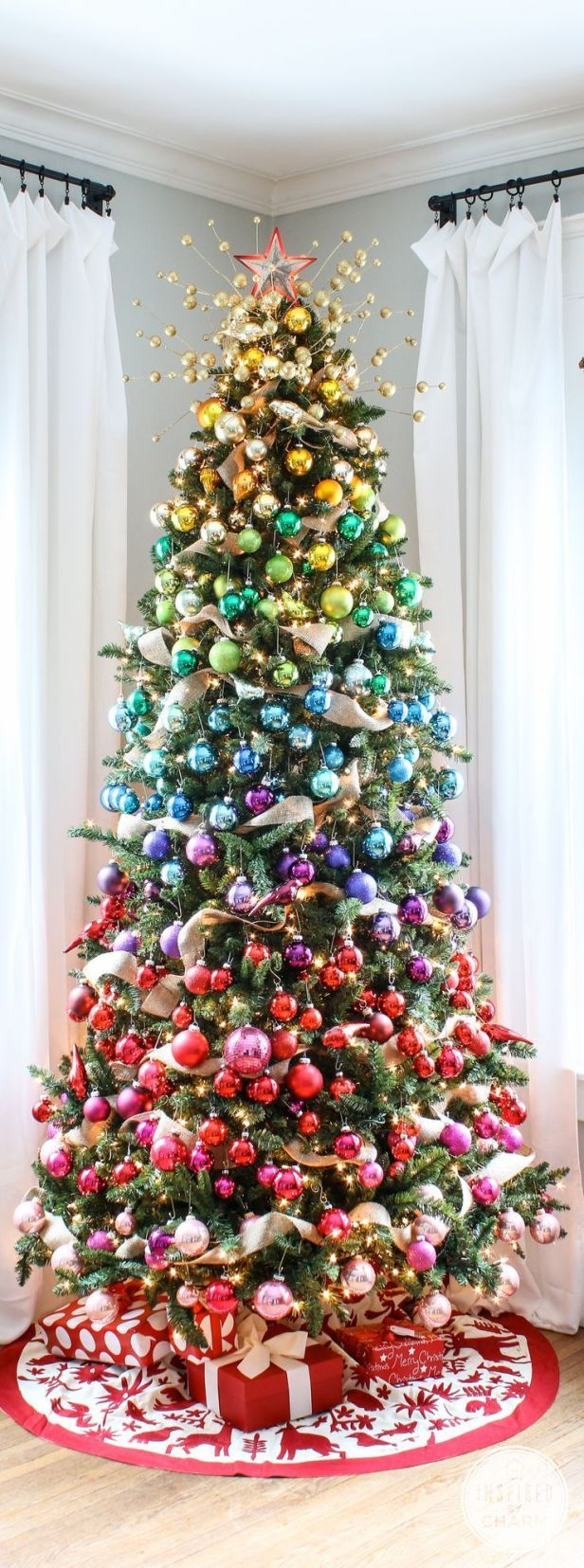 Color schemes for christmas trees - So How Do You Decide On What Colors To Use In Your Holiday Decorating Scheme Are You A Traditionalist Or The More Daring And Artistic Type