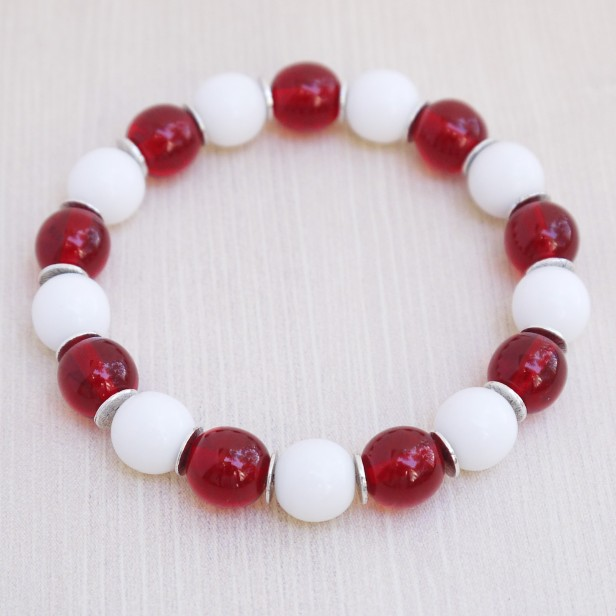 Red White 10mm (2)