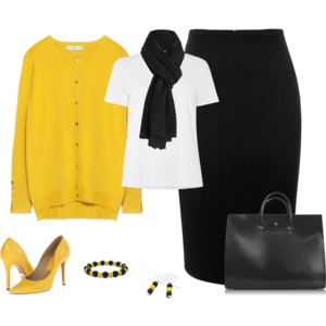 Black and Gold - Work Wear 2