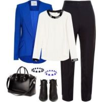 Royal Blue and White 1