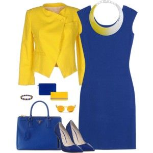 Royal Blue and Gold - Work Wear 2