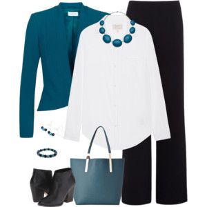 Teal and Black 1
