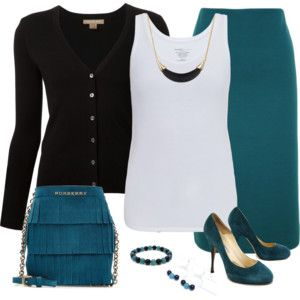Teal and Black 2