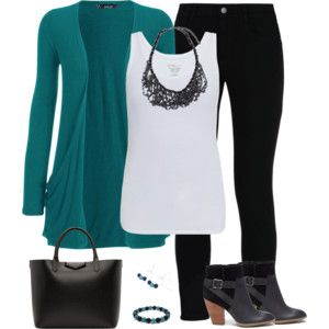 Teal and Black 3
