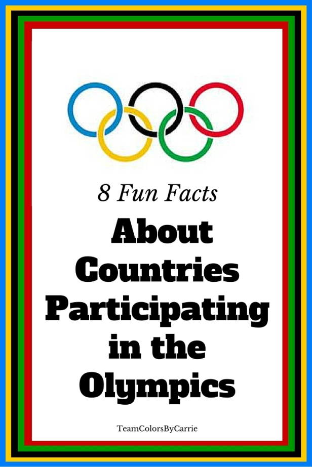 8 Fun Facts About Countries Participating in the Olympics