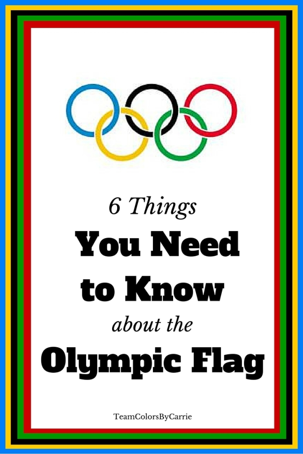 6 Things You Need to Know About the Olympic Flag