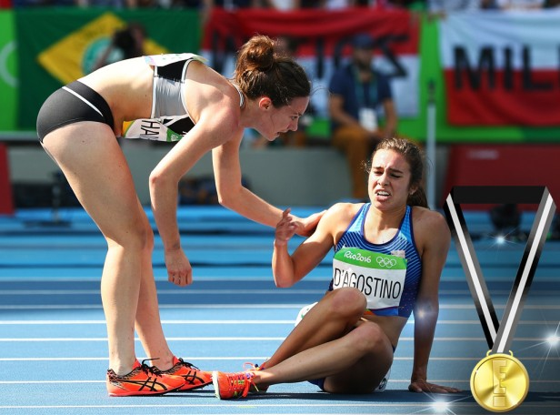 Abbey D'Agostino and Nikki Hamblin's Sportsmanship