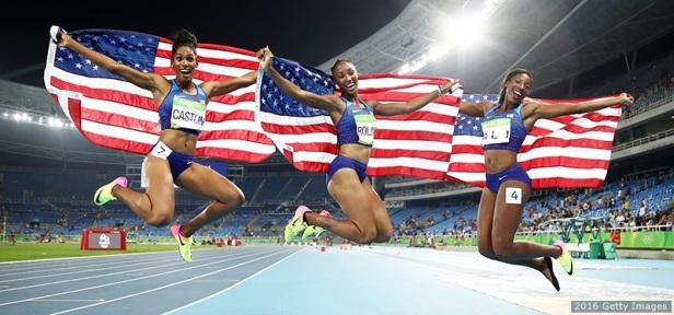 Ali_Castlin_Rollins - 100M hurdles sweep
