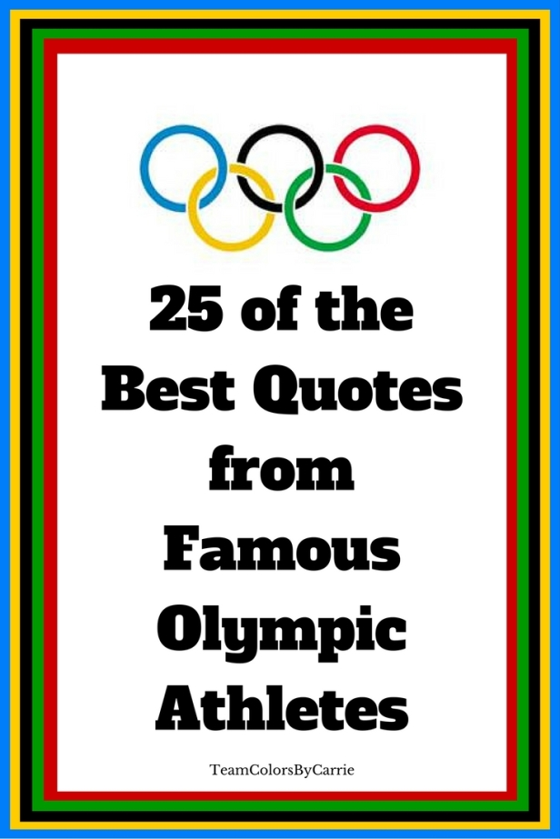 25 of the Best Quotes from Famous Olympic Athletes