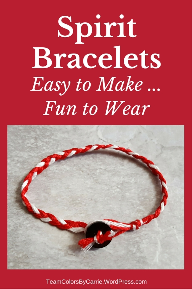 Embroidery floss bracelets are easy to make and fun to wear