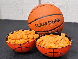 Basketball-Serving Bowls