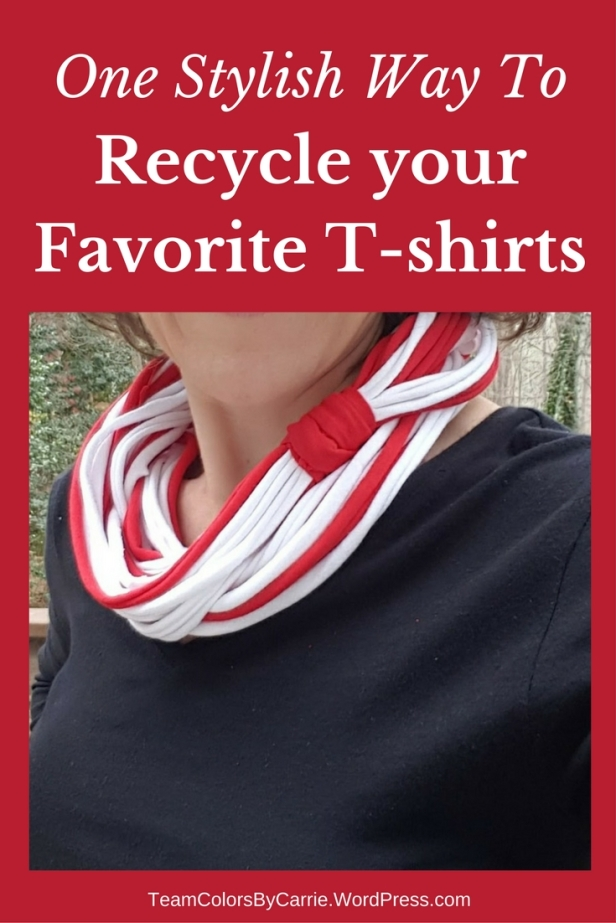 One Stylish Way To Recycle your Favorite T-shirts [How To]