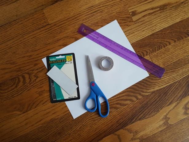 Pic 1 - Supplies