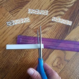 Pic 5a - cut half inch magnets