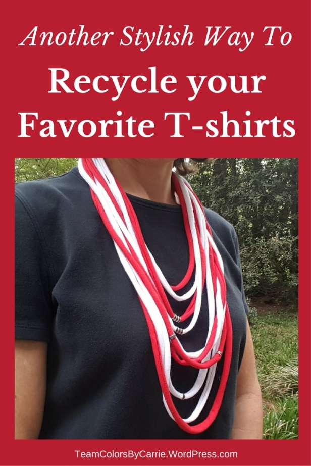 Another Stylish Way To Recycle your Favorite T-shirts [How To]