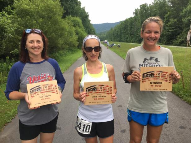 Merrills Mile 2017 - Top Females in the 48 Hour
