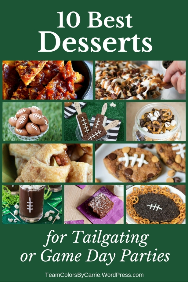 10 of the Best Desserts for Tailgating or Game Day Parties