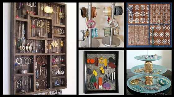 12 Pretty Jewelry Display Ideas You Can Diy Team Colors By Carrie