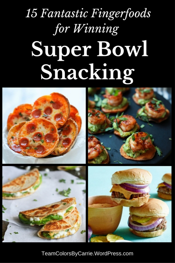 Finger foods are the perfect snacks for watching the big game