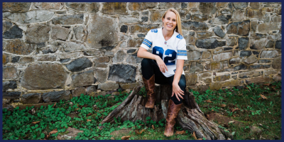 Dressed for Football Game Day - Dallas Cowboys Style